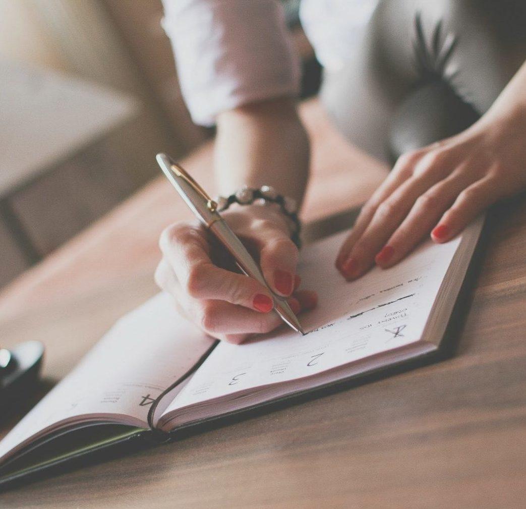 escribir-agenda