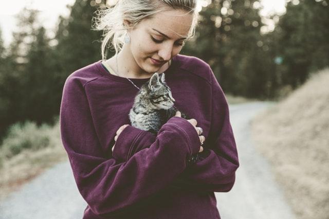 mujer-gato-cariño