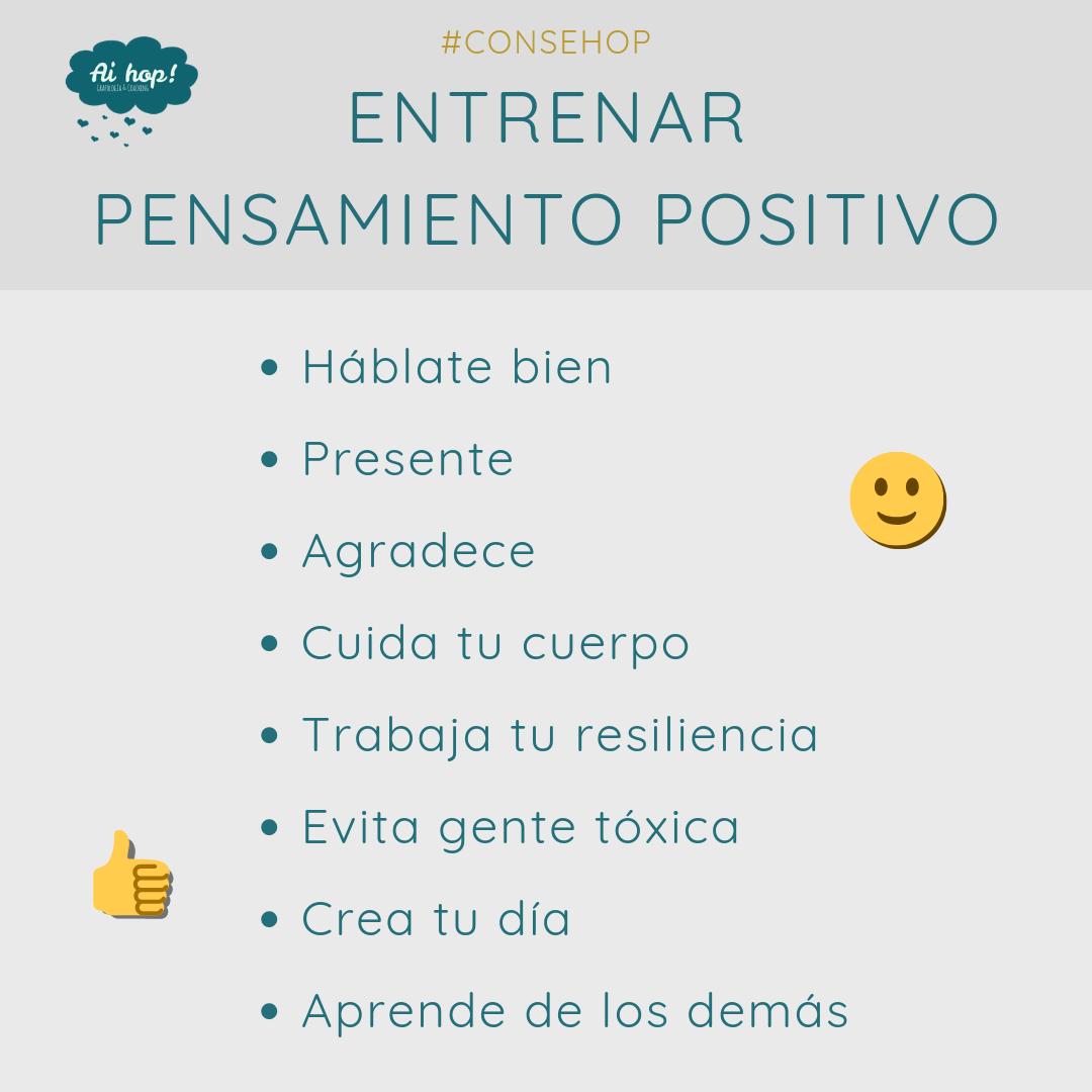 consehop - Pensamiento positivo consejo