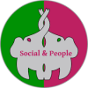 social and people logo